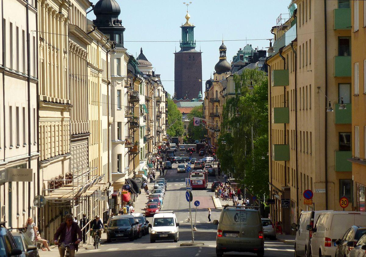 Flyttstädning på Kungsholmen
